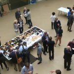 Lunch in the ESLC Atrium